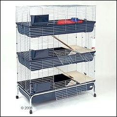 Cage pour rongeurs Essegi Baffy
