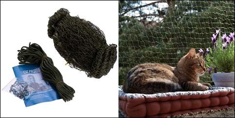 Filet de protection pour chat Cat Protect