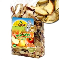 Friandises chips de pomme pour rongeurs