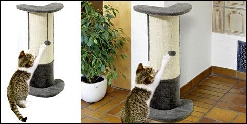 Griffoir d'angles pour chat Santo