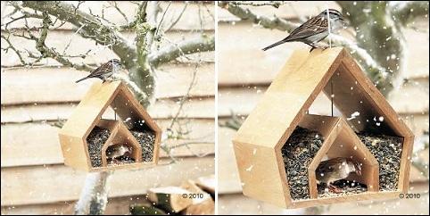 Mangeoire pour oiseaux Chapel